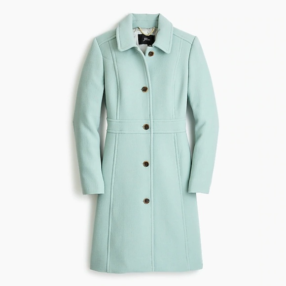autumn shoes shop for authentic new items Mint Wool Coat - Italian Wool Thinsulate Coat NWT